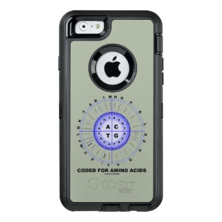 Coded For Amino Acids DNA Genetic Code OtterBox iPhone 6/6s Case