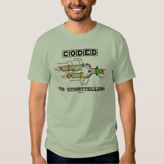 Coded For Storytelling (DNA Replication) Tee Shirt
