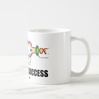 Coded For Success (DNA Replication) Basic White Mug