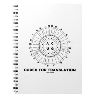 Coded For Translation (RNA Codon Wheel) Notebook