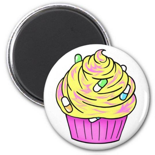 codeine cupcake magnet