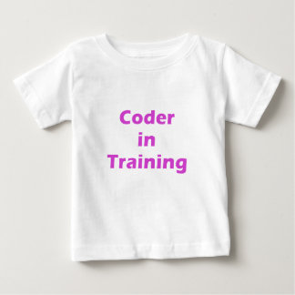 Coder in Training T-shirts