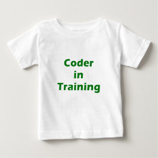 Coder in Training Shirts