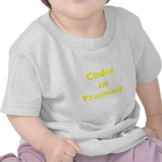Coder in Training Shirts