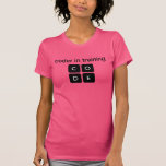 Coder In Training Tshirt
