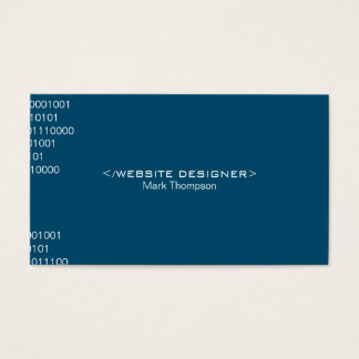 Coding Deep Blue Background