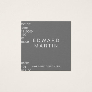 Coding Square Business Card