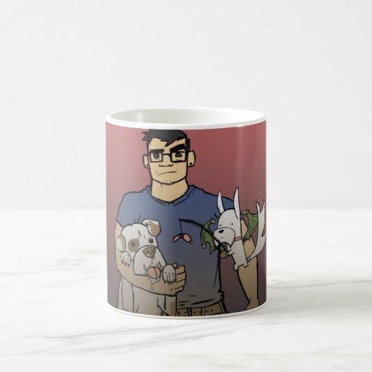 "cody & chance ""Handful of Dogs"" mug"