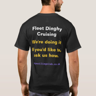 Cody Sailing Club Fleet Cruising T-Shirt