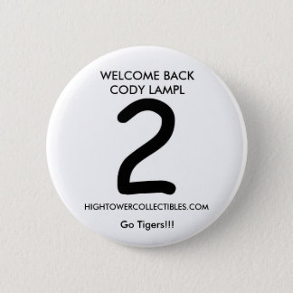 cody, WELCOME BACK CODY LAMPL, HIGHTOWERCOLLECT... 6 Cm Round Badge