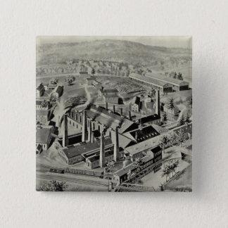 Coe Brass Mfg Co 15 Cm Square Badge