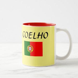 Coelho Portuguese Surname Mug