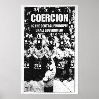 Coercion poster