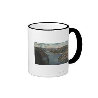 Coeur d Alene ID - View of Beauty Bay Mugs