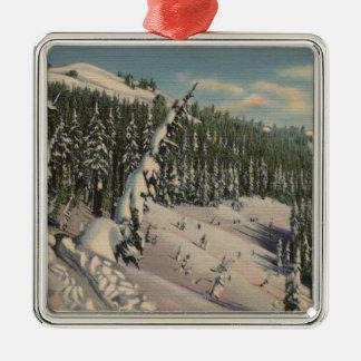 Coeur d'Alene, ID - Coeur d'Alene Christmas Ornament