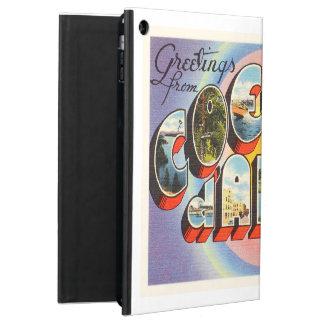 Coeur d'Alene Idaho ID Old Vintage Travel Souvenir iPad Air Case