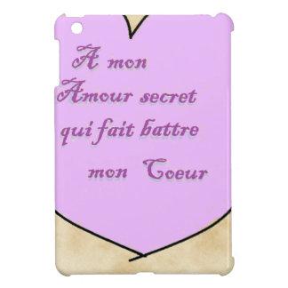 coeur parchemin2 png coque iPad mini