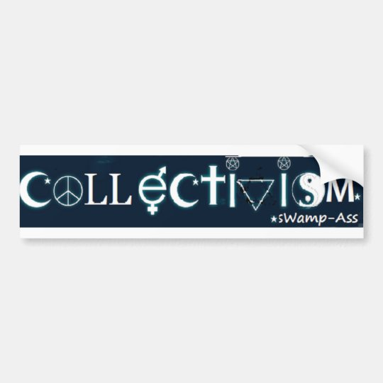 Coexist Collectivism Bumper Sticker