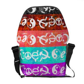 """Coexist"" Commuter Bag"