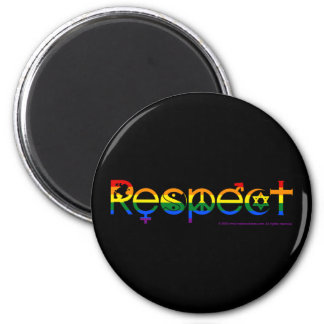 Coexist with Respect Gay Pride Magnet