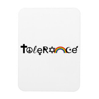 COEXIST WITH TOLERANCE -.png Flexible Magnet