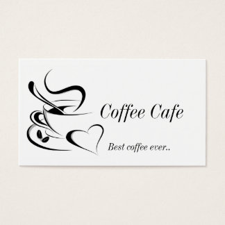 Cofee business card