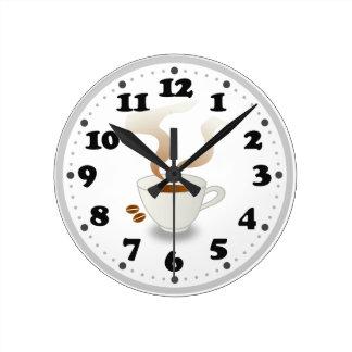Coffe | Cute Kitchen Gifts Wall Clocks