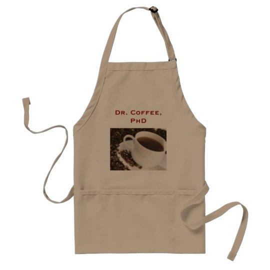 coffe, Dr. Coffee, PhD Standard Apron