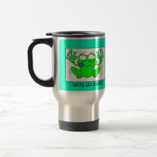 COFFE FROG TRAVEL MUG