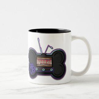 Coffee-1 BarkRadioDot Com Two-Tone Mug