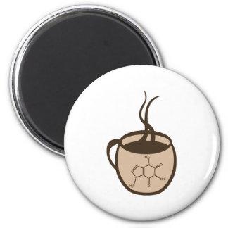 Coffee 6 Cm Round Magnet