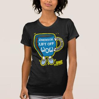 Coffee Accelerator WOW Dancing Mug T-shirts