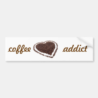 Coffee Addict Bumper Sticker