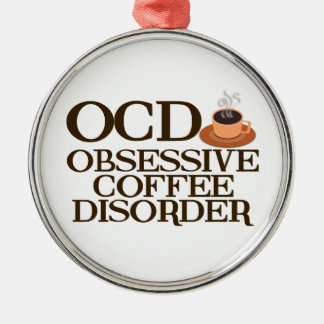 Coffee Addict Christmas Ornament