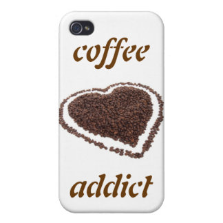 Coffee Addict Covers For iPhone 4