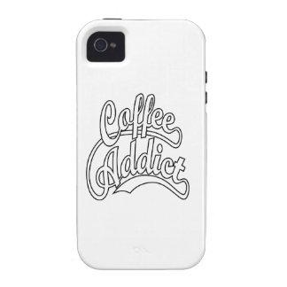 Coffee Addict in Black Case-Mate iPhone 4 Cases