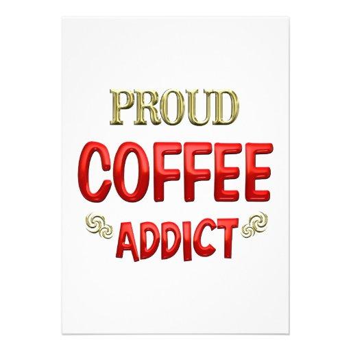 Coffee Addict Invite