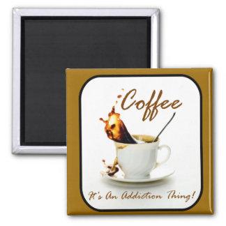 Coffee Addiction Refrigerator Magnets