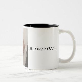 Coffee and a Donut Mug