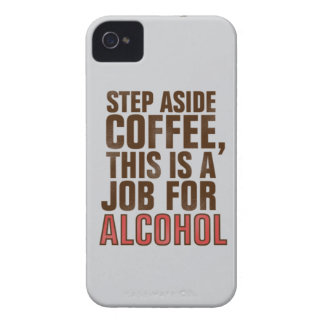 Coffee and alcohol iPhone 4 cover