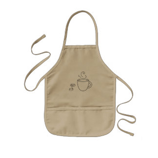 Coffee and Bean Kids Apron