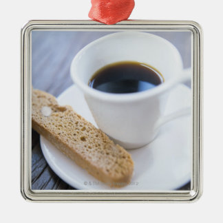 Coffee and Biscotti Christmas Ornament