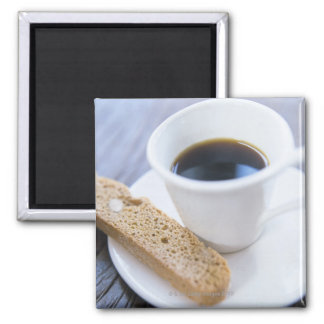 Coffee and Biscotti Magnet