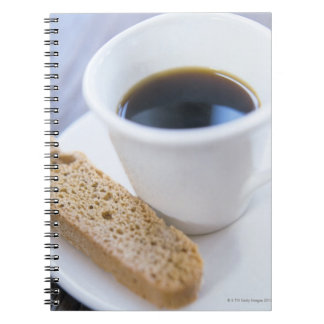 Coffee and Biscotti Spiral Notebook