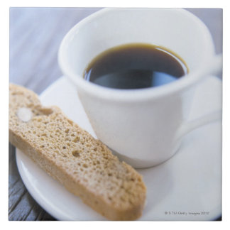 Coffee and Biscotti Tile