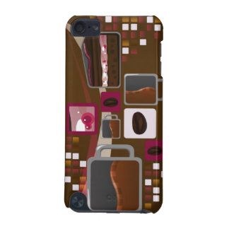 Coffee and Cake iTouch Case Brown iPod Touch (5th Generation) Cases