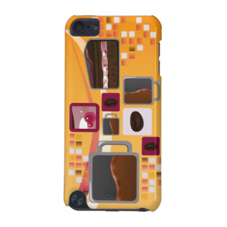 Coffee and Cake iTouch Case Orange iPod Touch (5th Generation) Covers
