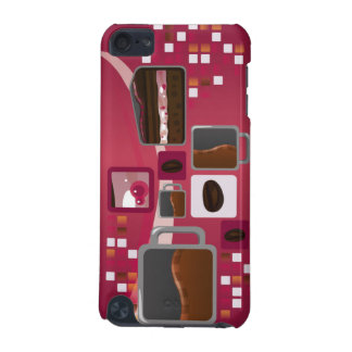 Coffee and Cake iTouch Case Pink iPod Touch 5G Cases