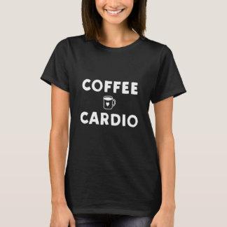 Coffee and cardio fitness shirt