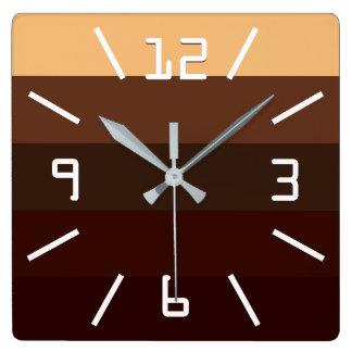 Coffee and Chocolate Wall Clocks
